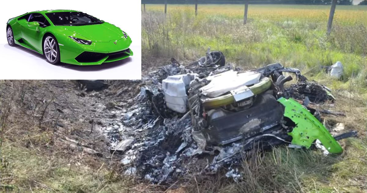 lamborghini crash hobby rennfahrer crasht bei 320 km h. Black Bedroom Furniture Sets. Home Design Ideas